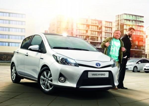 Die Toyota Hybrid Markenbotschafter