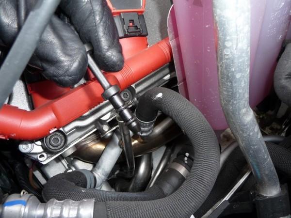 2009 Audi S5 Ölstopfen