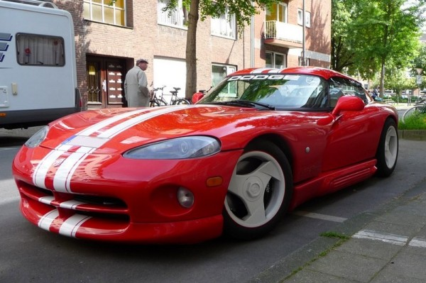 Dodge Viper RT/10 Bubble top vorne links