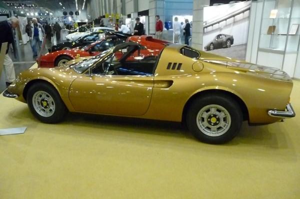 1973 Ferrari Dino 246 GTS Seitenansicht