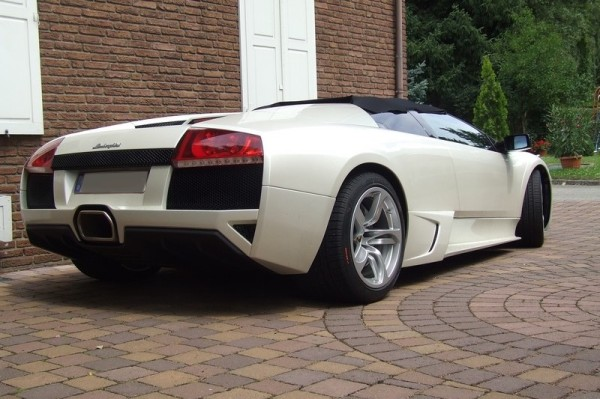 2007 Lamborghini Murciélago LP640 Roadster hinten rechts