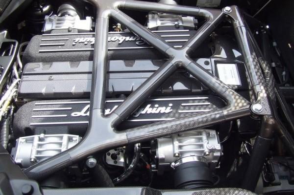 2007 Lamborghini Murciélago LP640 Roadster V12 Motor