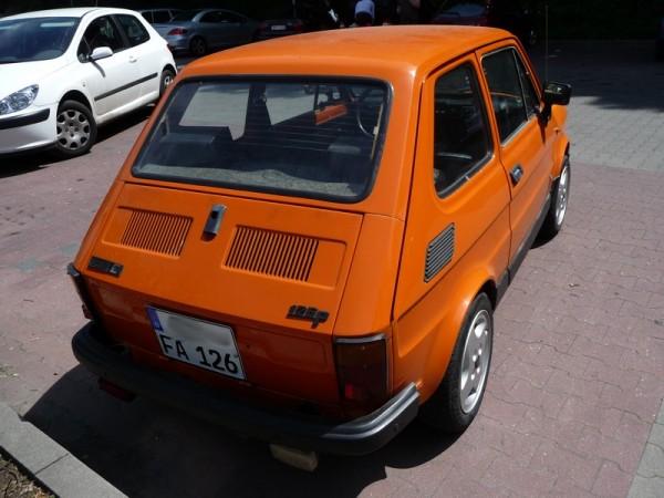 Polski Fiat 126P 650E Heck