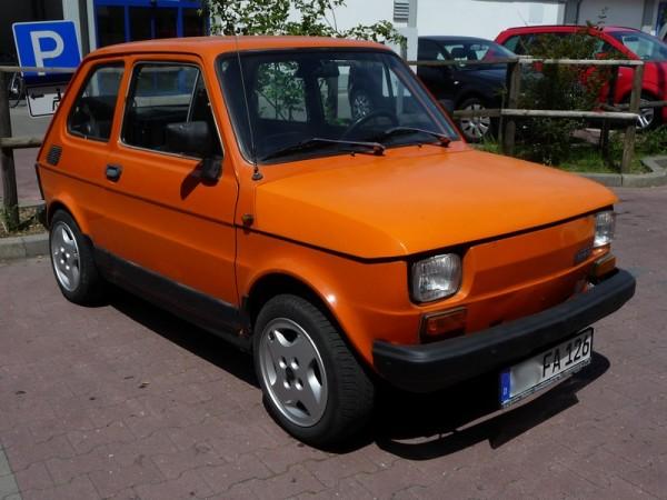 Polski Fiat 126P 650E Front