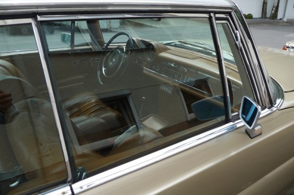 Mercedes-Benz SE Coupé W 111 Interieur