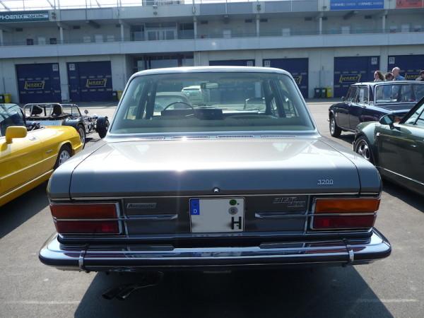 Fiat 130 Limousine 3200 Heck
