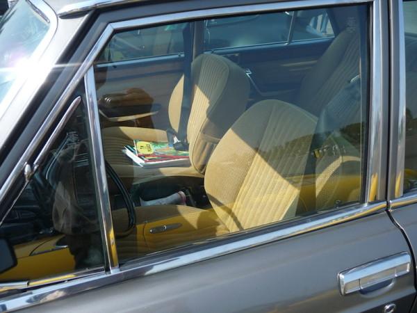 Fiat 130 Limousine 3200 Innenraum