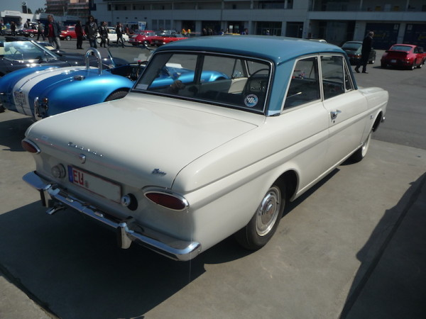 Ford P4 Taunus 12m Heck rechts