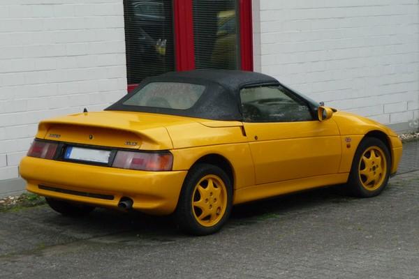 Lotus Elan SE M100 Heck - Seite
