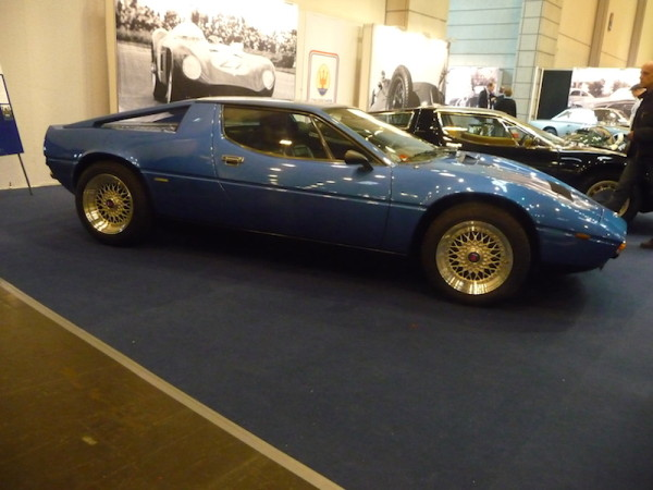 Maserati Merak SS Seitenansicht