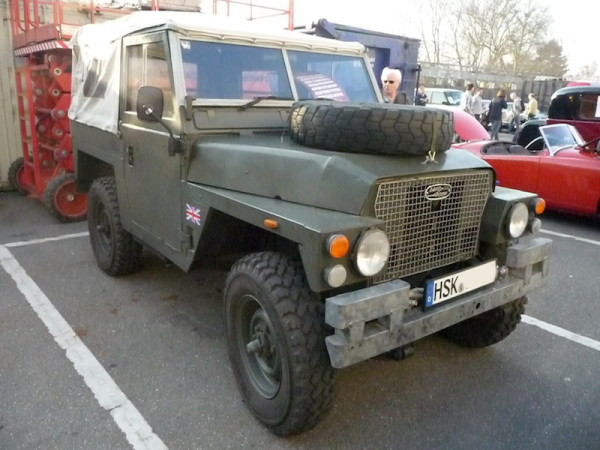 Military Land Rover Lightweight