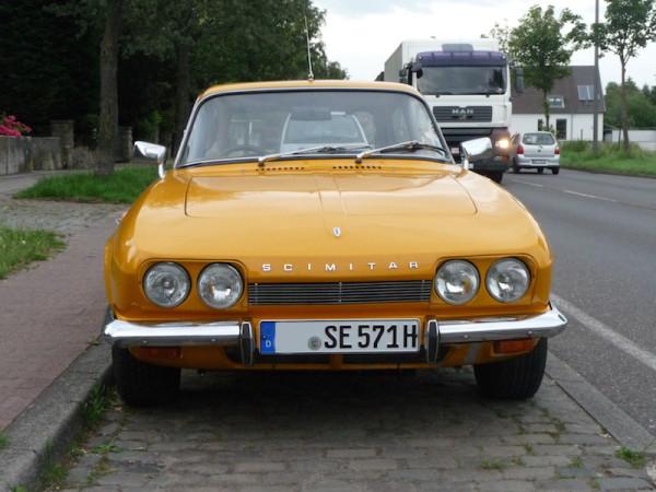Reliant Scimitar GTE SE5 Front