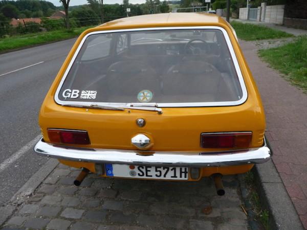 Reliant Scimitar GTE SE5 Heck