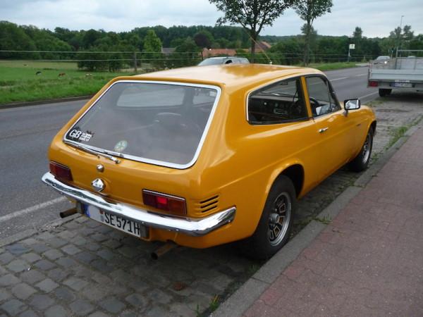 Reliant Scimitar GTE SE5 hinten rechts