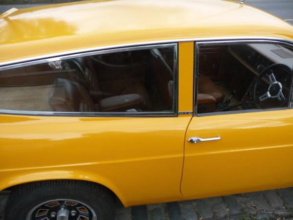 Reliant Scimitar GTE SE5 Innenraum