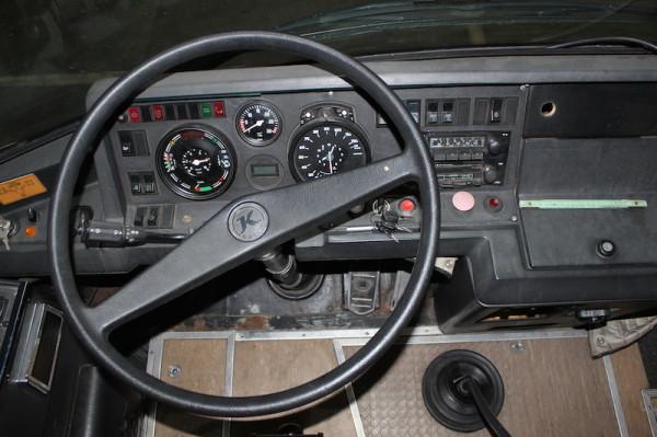 Setra S 208 H Cockpit