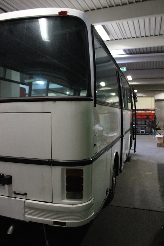 Setra S 208 H Heckdetail