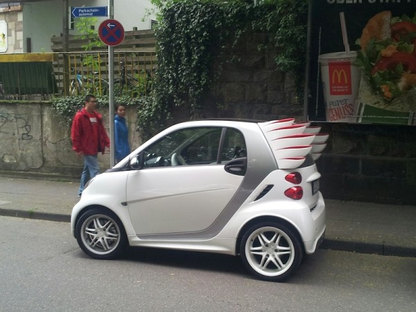 Smart fortwo edition by Jeremy Scott Brabus Seitenansicht