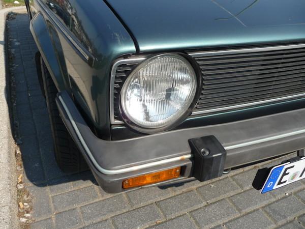 VW Golf I GL SRA Scheinwerferreinigungsanlage