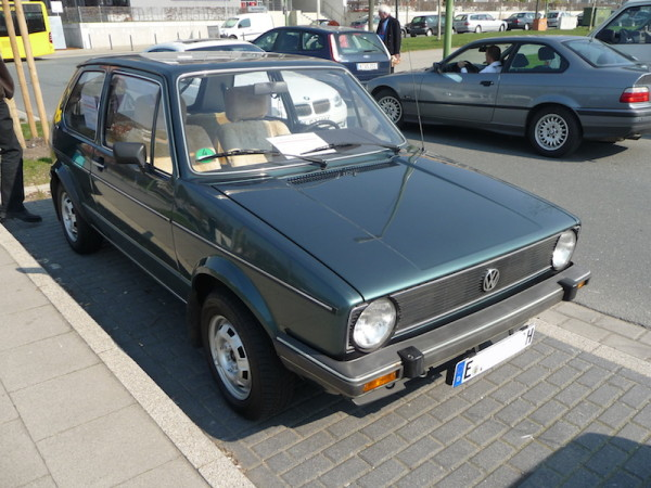 VW Golf I GL SRA Front