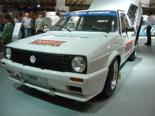 1987 VW Golf II Pikes Peak Front