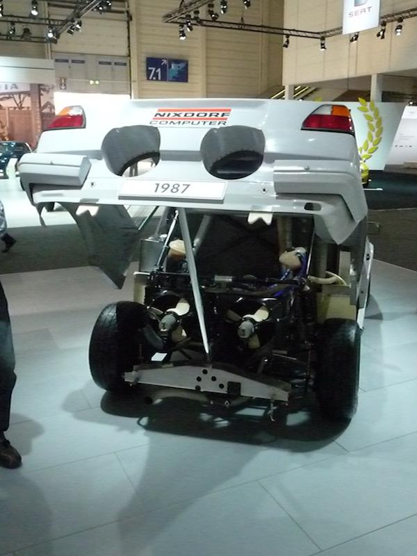 1987 VW Golf II Pikes Peak Heck offen