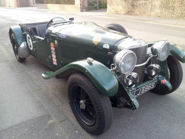 1932 Alvis Speed 20 vorne rechts