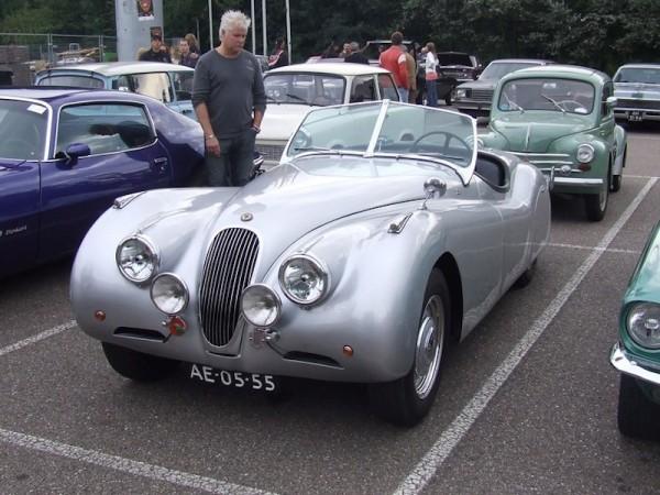 Jaguar XK 120 Front