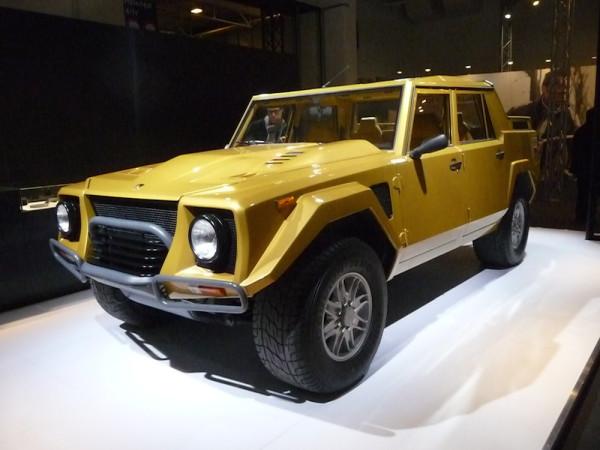 Lamborghini LM0002 vorne links