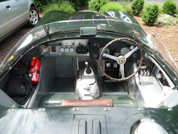 Jaguar C-Type XK 120 C Cockpit