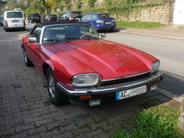 Jaguar XJS V12 Cabriolet Front