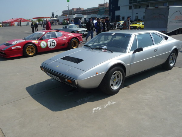 Ferrari Dino 308 GT 4 Front