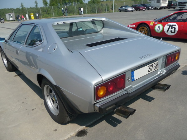 Ferrari Dino 308 GT 4 Heck