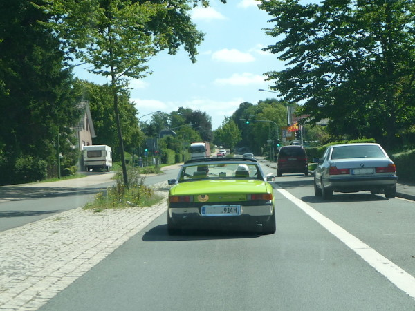 VW Porsche 914 Heck