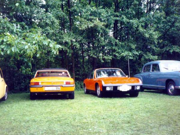 VW Porsche 914 vorne und hinten