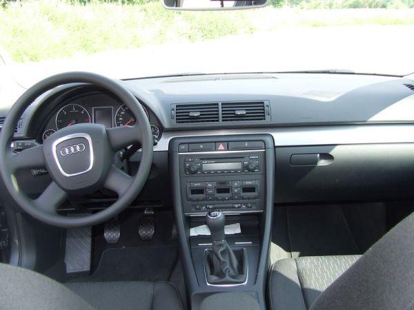 Audi A4 Avant TDI Cockpit