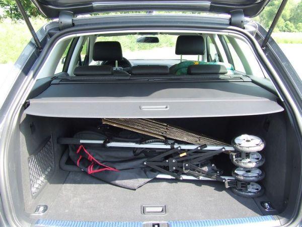 Audi A4 Avant TDI Kofferraum