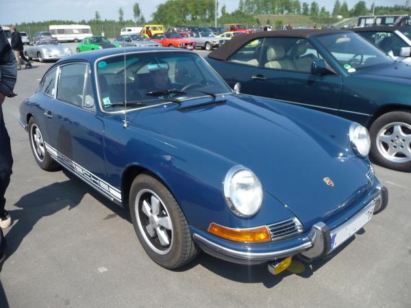 Porsche 912 Front und Seite