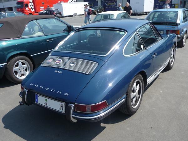 Porsche 912 Heck und Seite