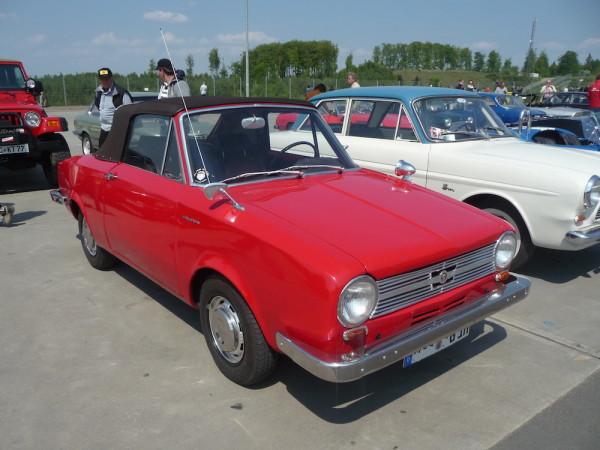 Glas 1204 TS Cabriolet Front und Seite