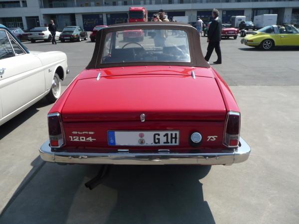 Glas 1204 TS Cabriolet Heck