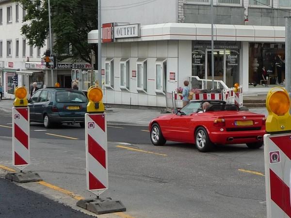 BMW Z1 Roadster Heck