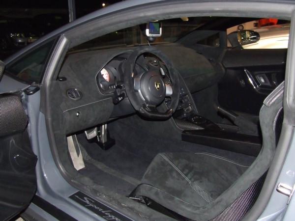 Lamborghini Gallardo Superleggera Innenaum