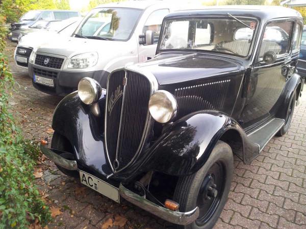 Fiat 508 Balilla Front