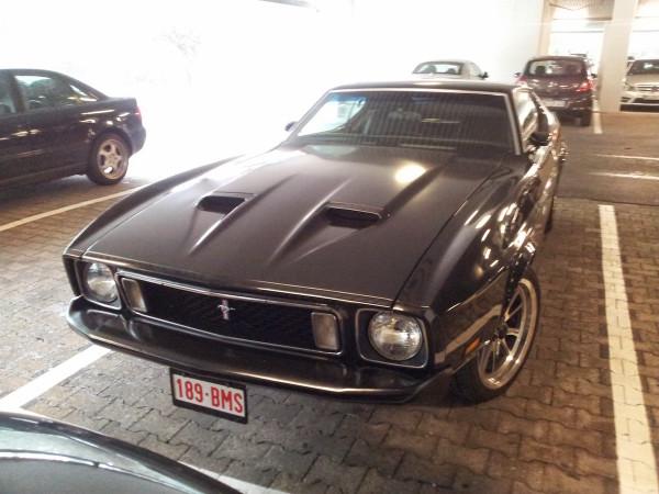 1972 - 1973 Ford Mustang Front