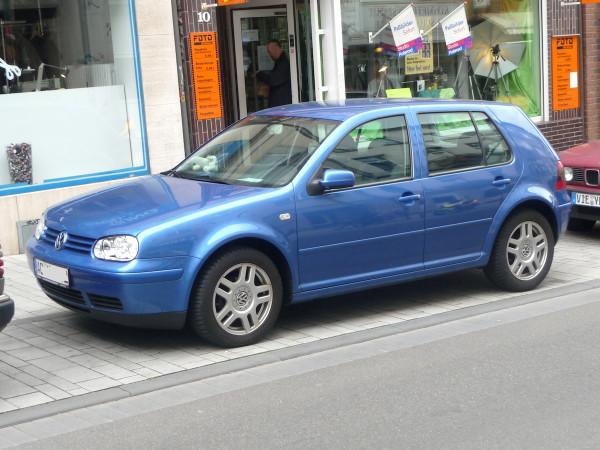 VW Golf IV Fünftürer