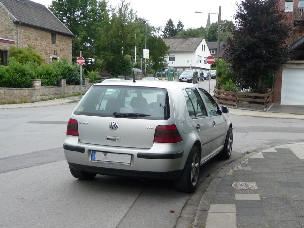 VW Golf IV Heck