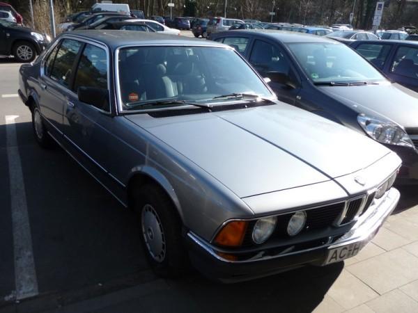 BMW 7er E23 Front 735i