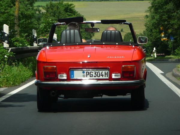 Peugeot 304 Cabriolet Heck