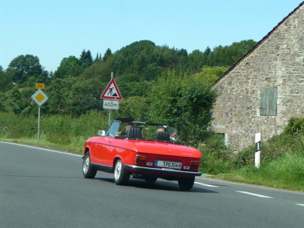 Peugeot 304 Cabriolet Seite